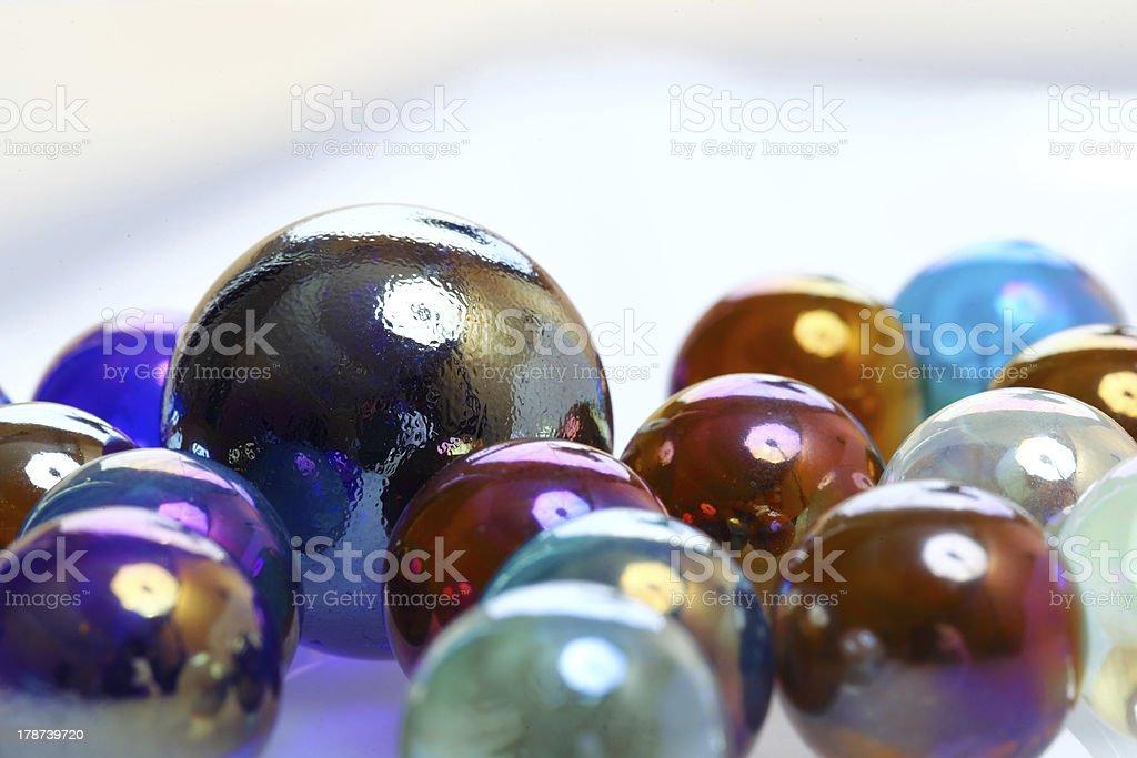 カラフルなガラスのボール ロイヤリティフリーストックフォト