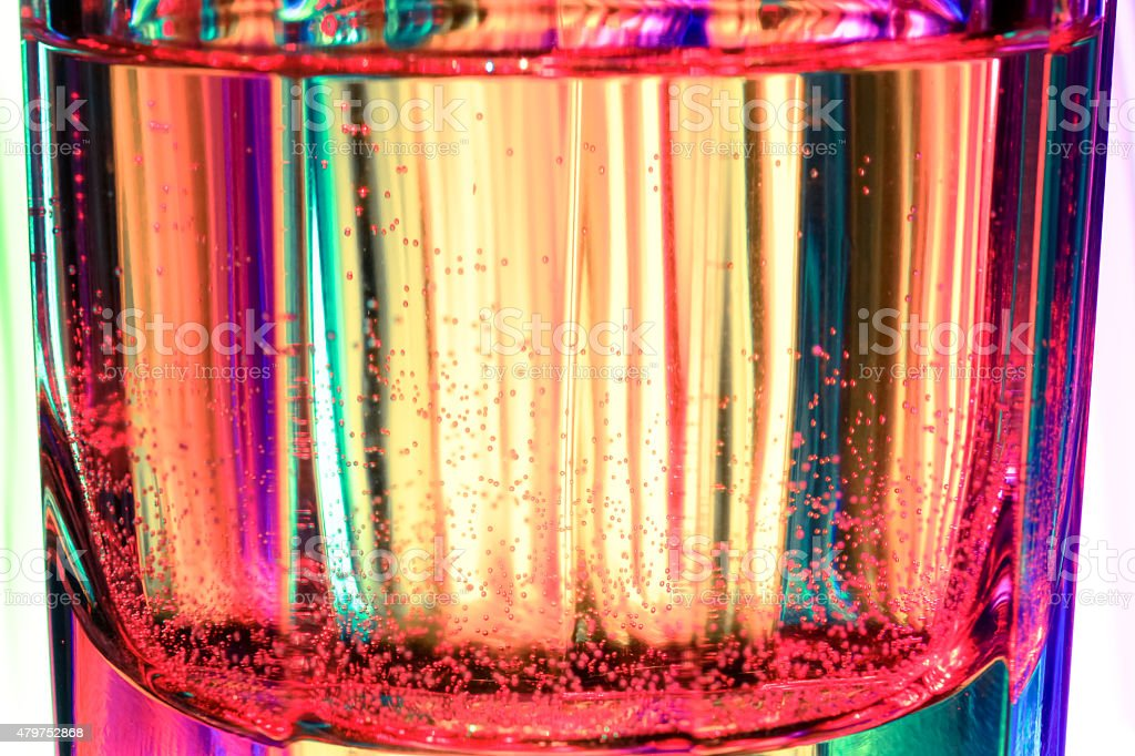 colorful glass stock photo