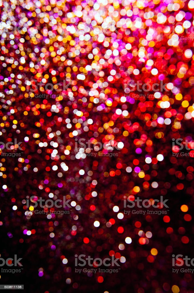 Colorful Glitter Background stock photo