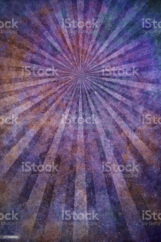 colorful grunge texture with sunrays royalty-free stock photo