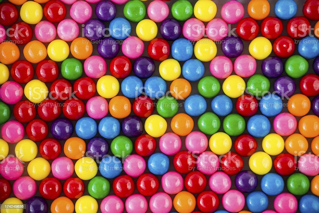 Colorful gumballs background image stock photo