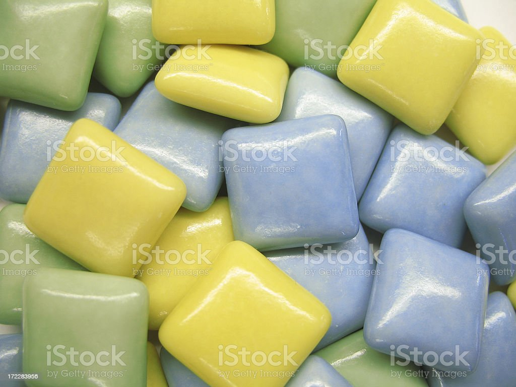 colorful gums stock photo