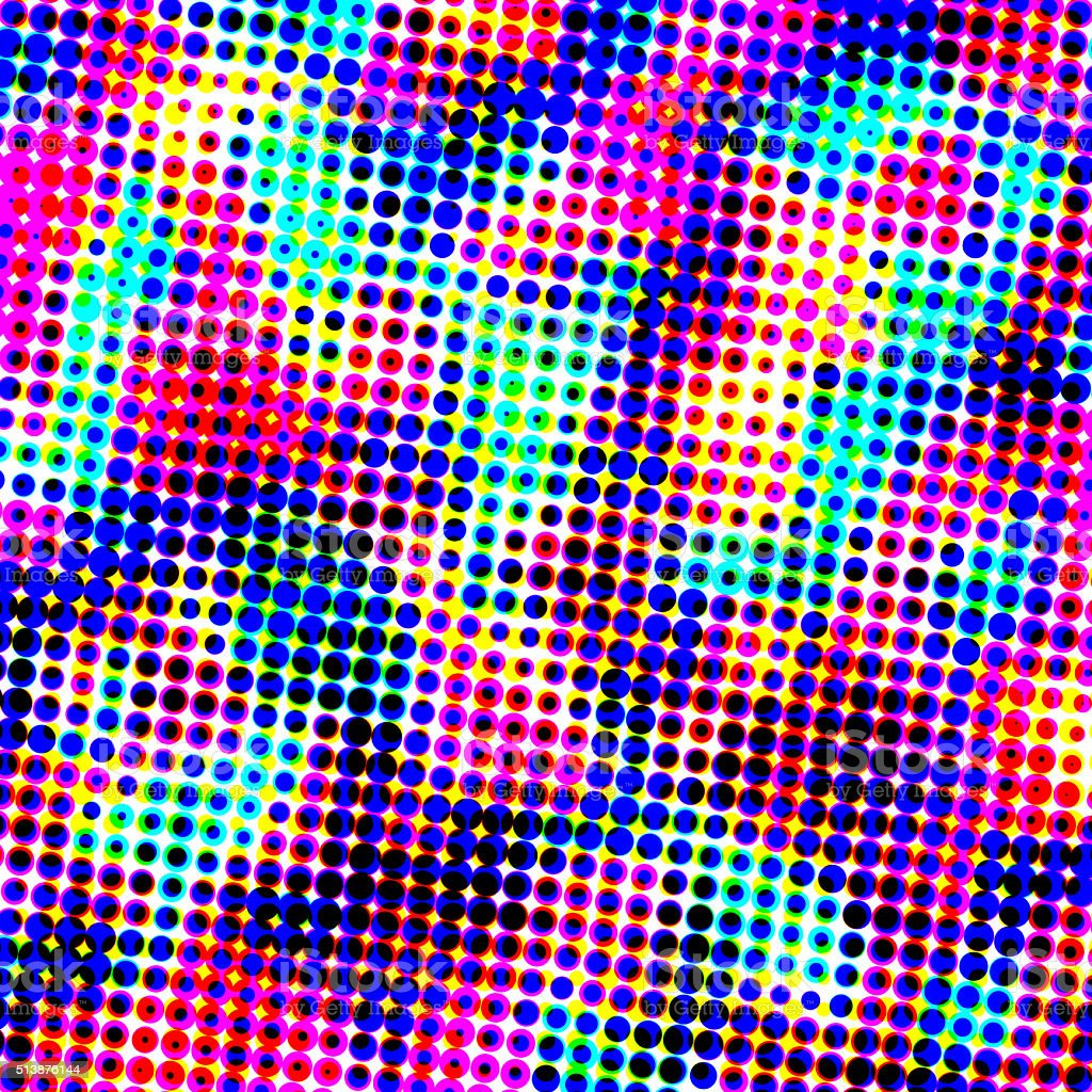 colorful halftone background stock photo