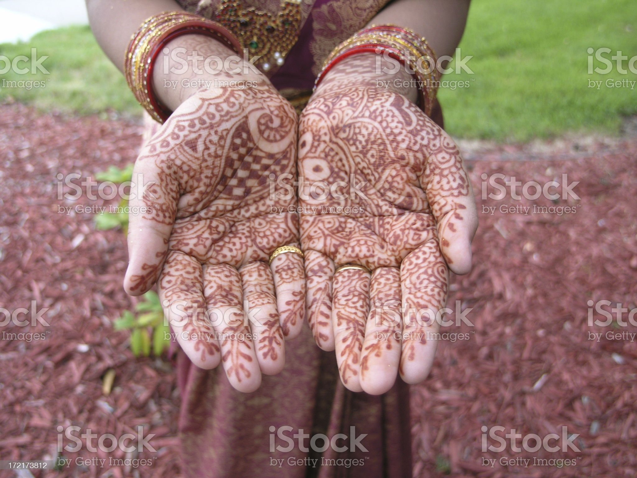 Colorful Hands royalty-free stock photo
