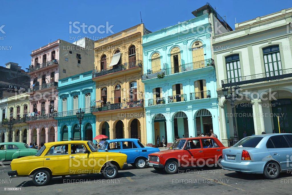 Colorful Havana stock photo