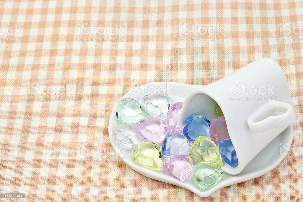 Colorful Heart stock photo