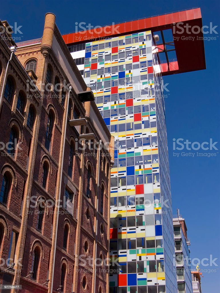 Colorful High Rise royalty-free stock photo