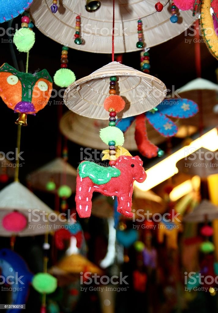 Colorful Hoi An stock photo