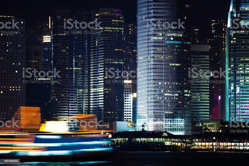 colorful HONGKONG royalty-free stock photo