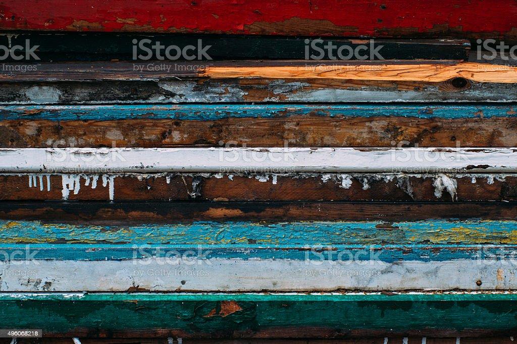 Colorful horizontal lines stock photo