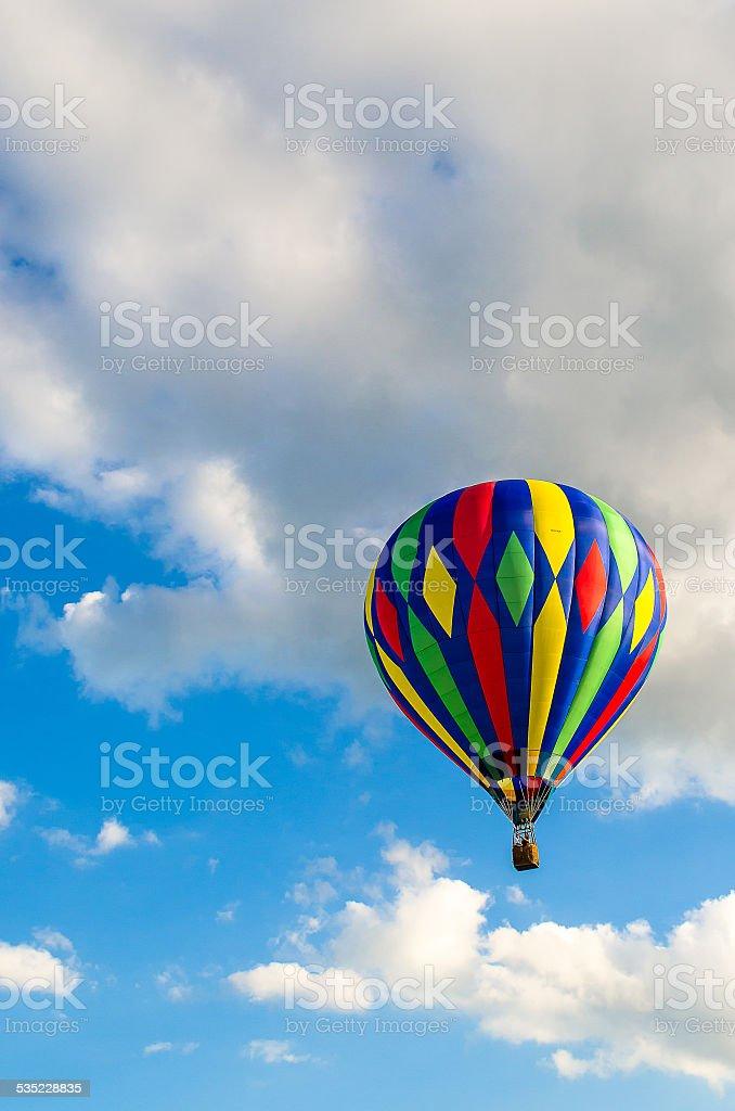 Colorido de balões de ar quente foto royalty-free