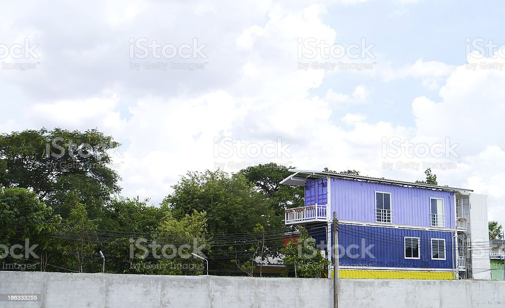 Colorful house . royalty-free stock photo