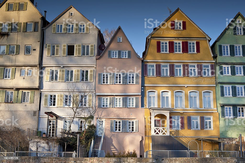 Colorful Houses stock photo