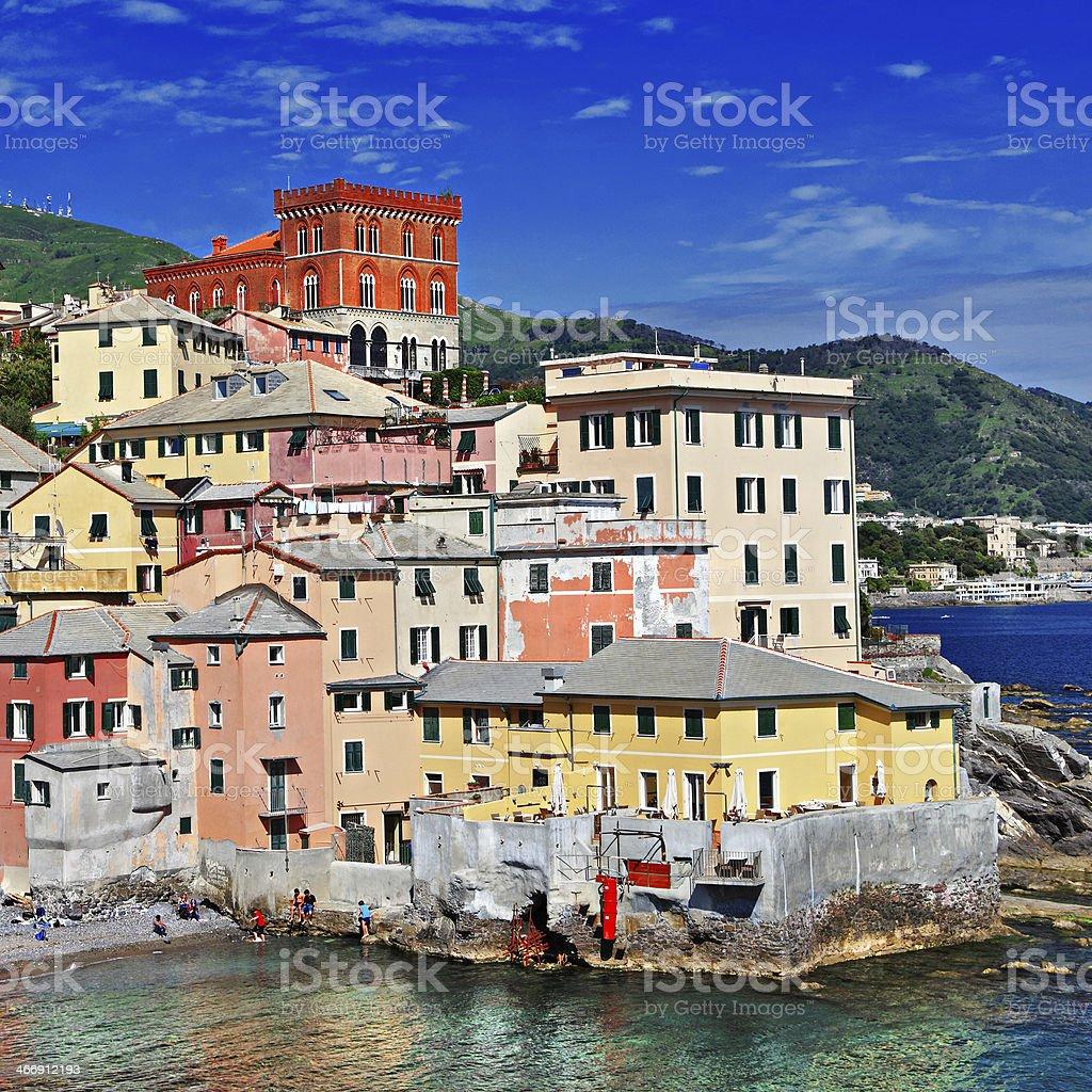 Colorful Italy - Genova, Liguria royalty-free stock photo