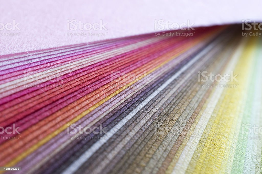 Colorful Japanese paper stock photo