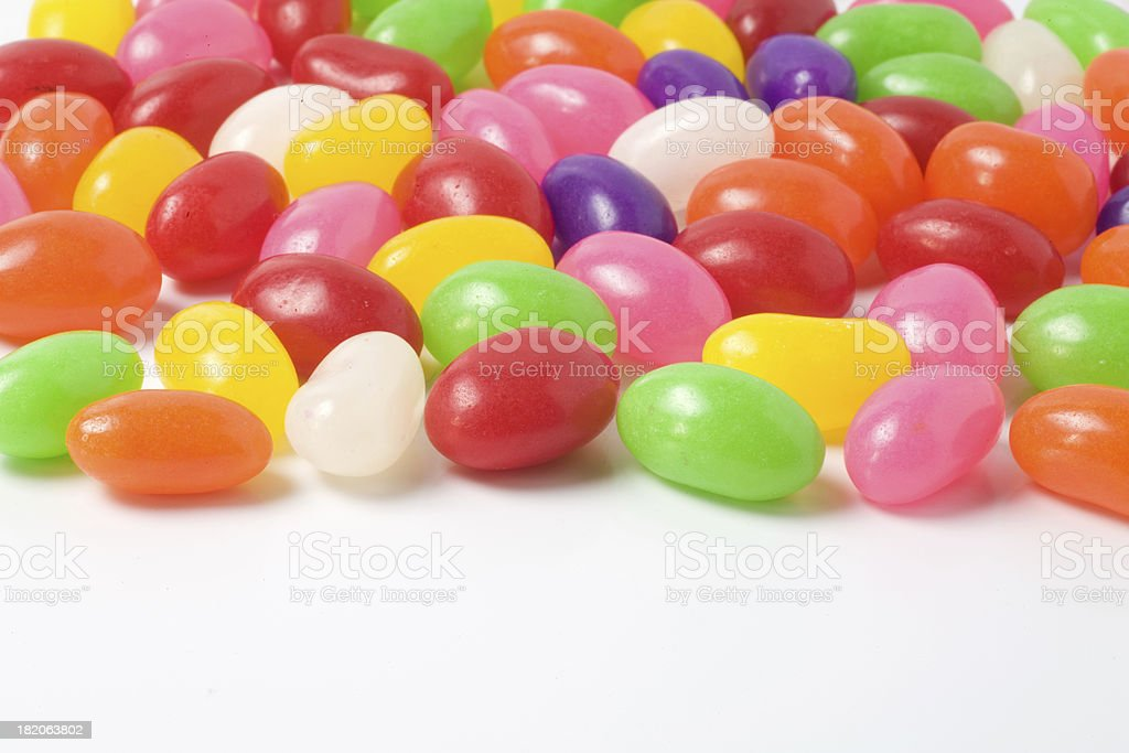 Colorful Jelly Beans stock photo