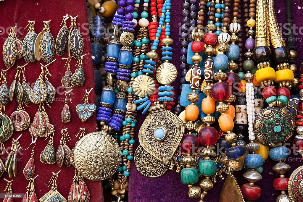 Colorful Jewelry stock photo