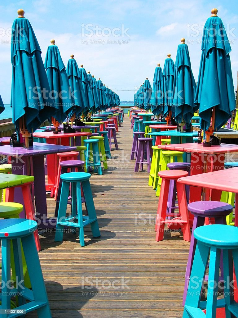 Colorful Key West stock photo