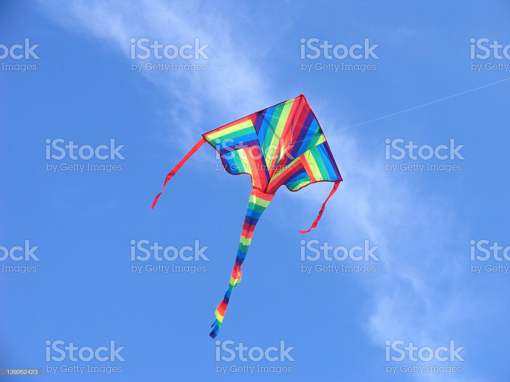colorful kite royalty-free stock photo