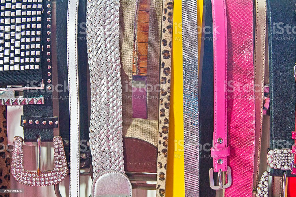 colorful ladies girdle stock photo