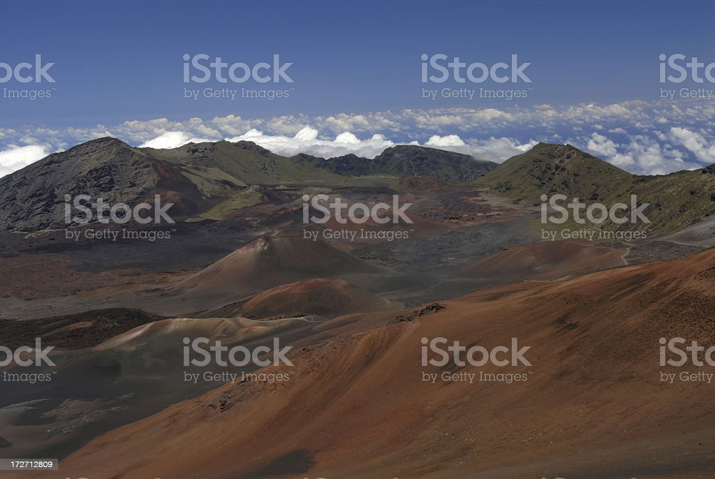 Colorful Landscape royalty-free stock photo