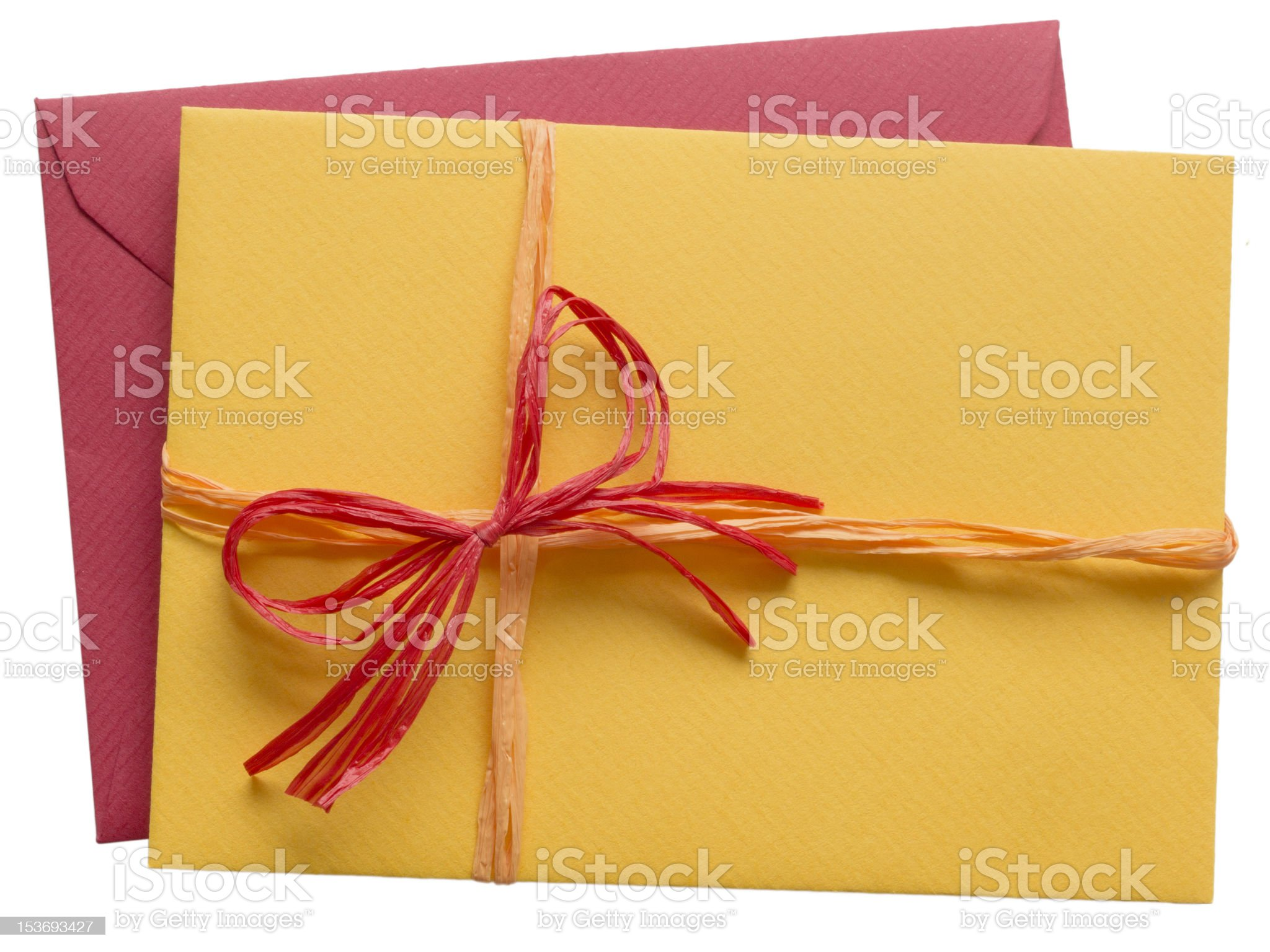 colorful letter and envelope royalty-free stock photo