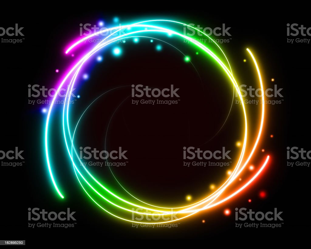 Colorful light royalty-free stock photo