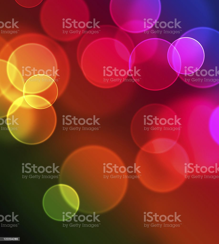 colorful lights stock photo