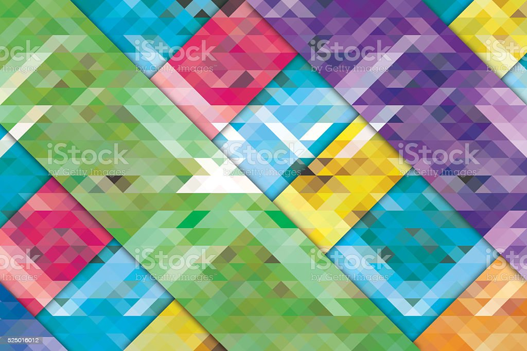 Colorful lines design background stock photo