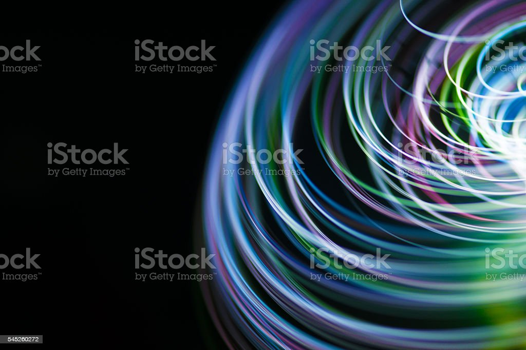 Colorful lines stock photo