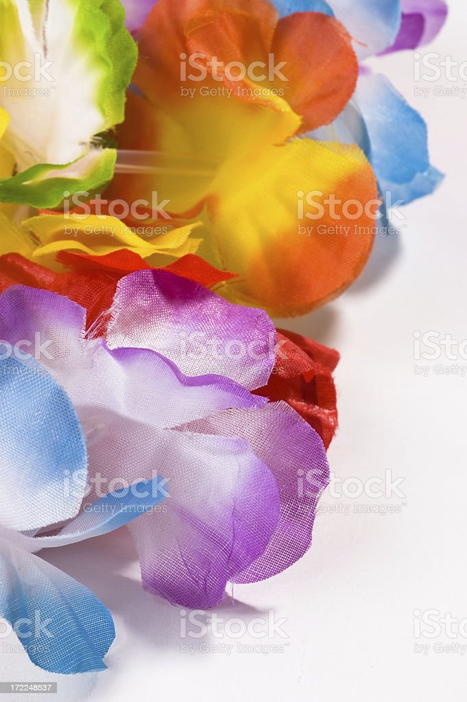Colorful Lei royalty-free stock photo