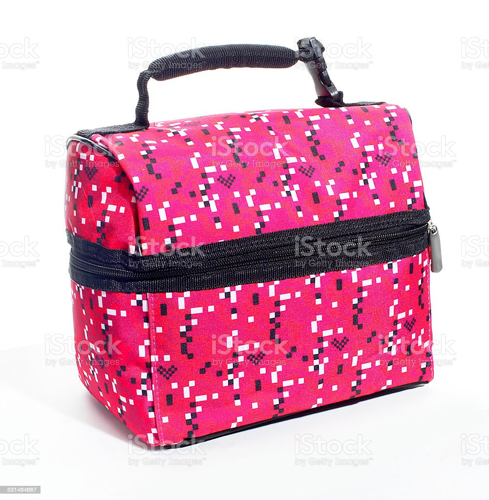colorful lunchbag stock photo