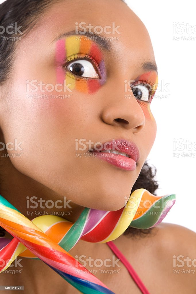 Colorful madness royalty-free stock photo