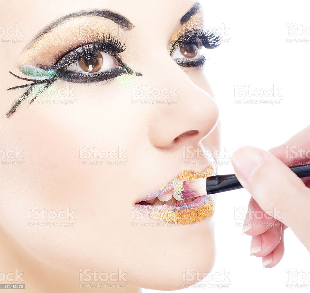Colorful Make-Up stock photo