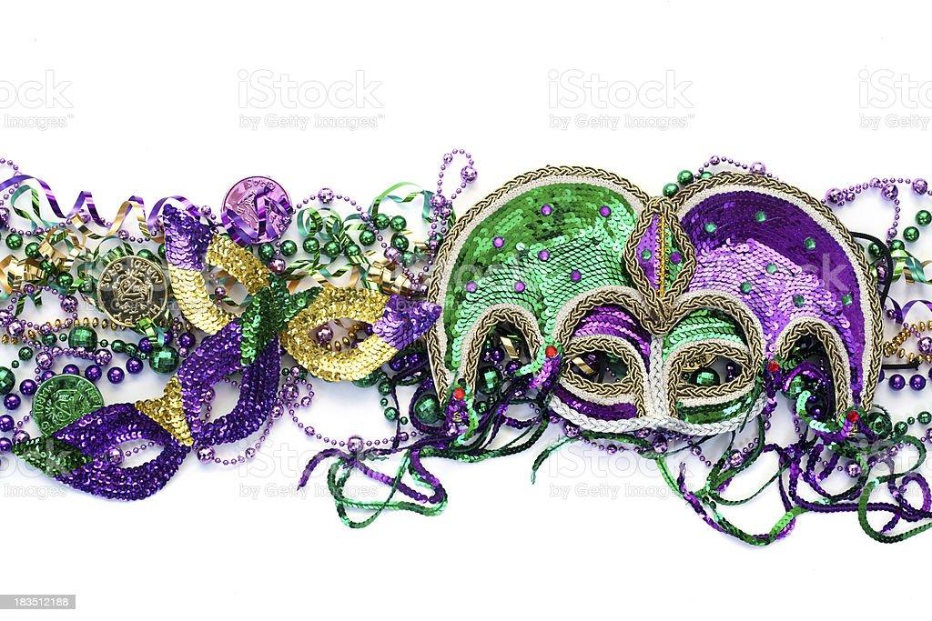 Colorful Mardi Gras Background stock photo