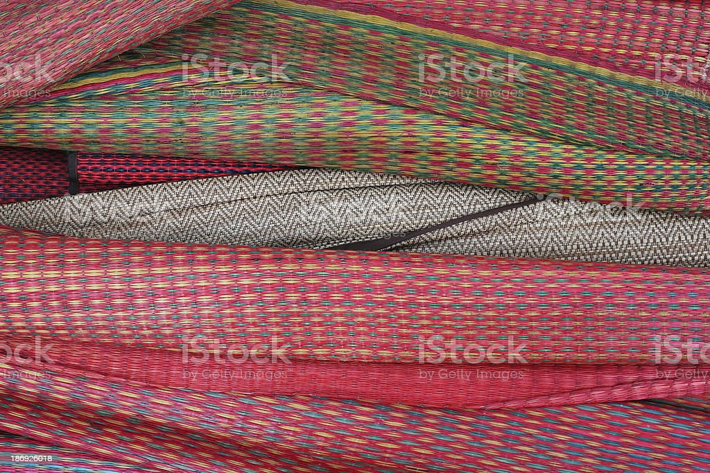 colorful mats royalty-free stock photo