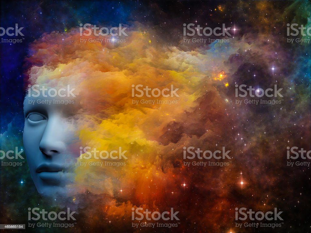 Colorful Mind stock photo