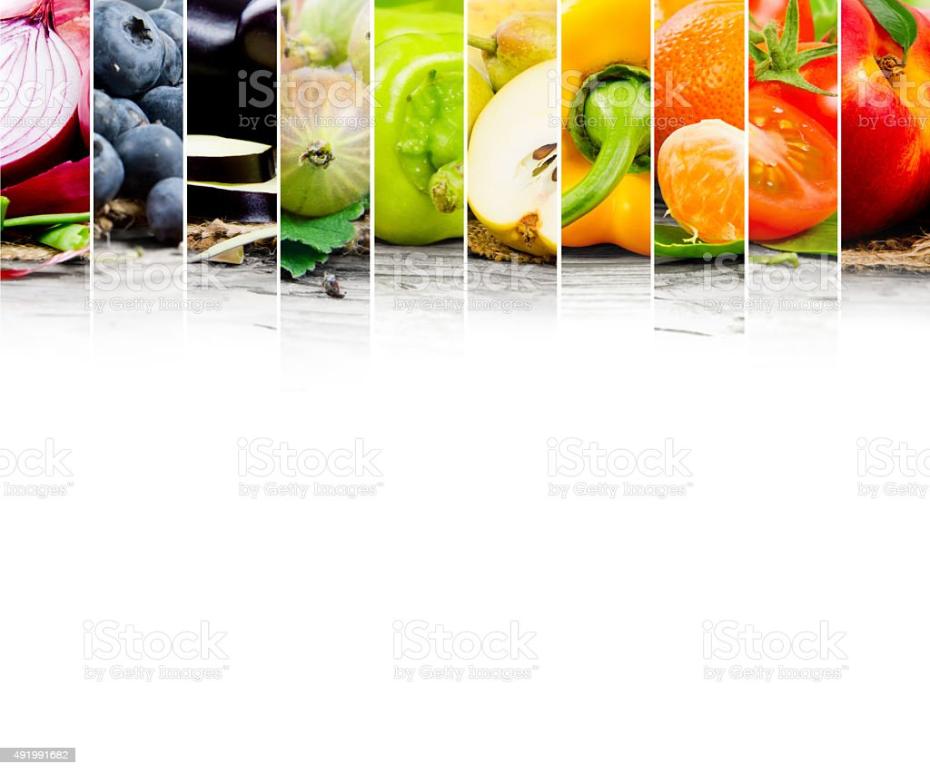 Colorful mix stock photo
