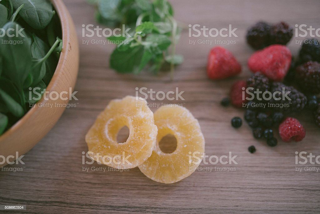 Colorful morning stock photo