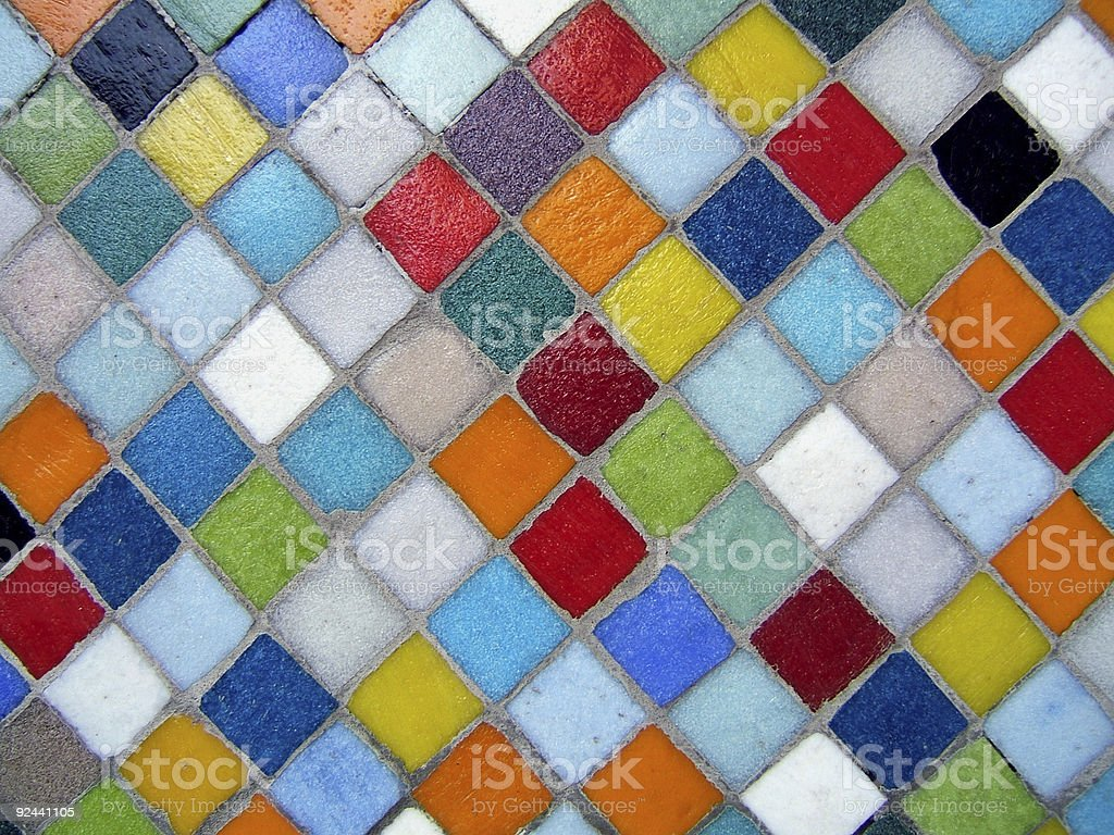 Colorful  mosaic royalty-free stock photo