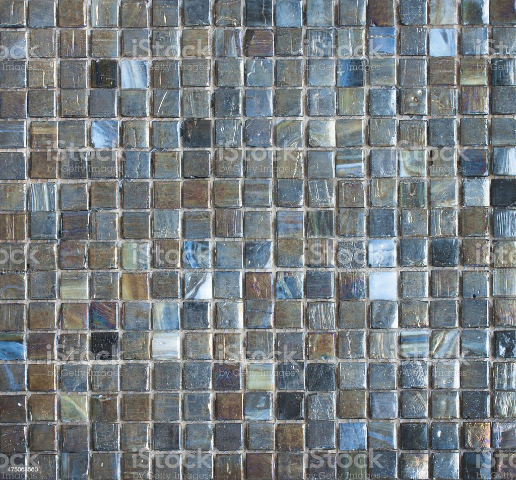 Colorful Mosaic Tiles abstract texture and background stock photo