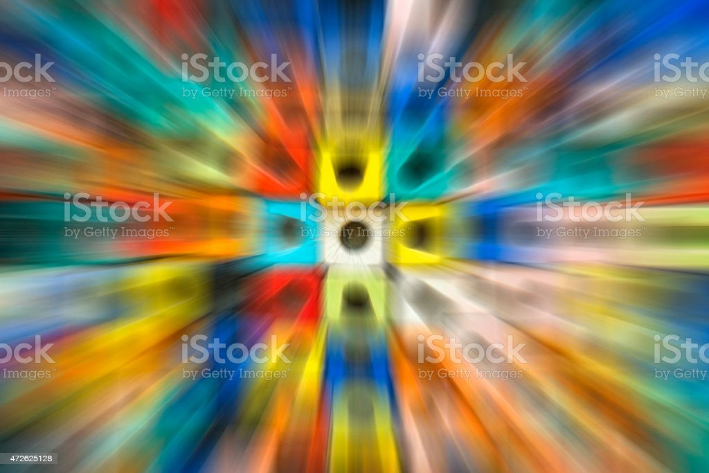 Colorful motion blur background royalty-free stock photo