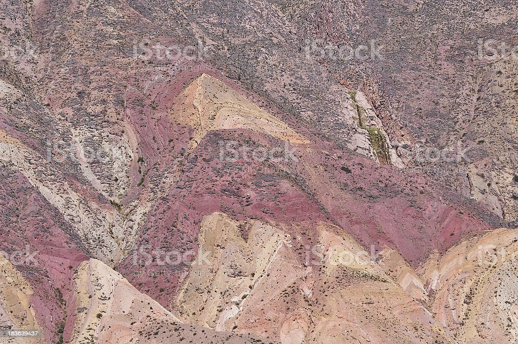 Colorful mountain landscape. royalty-free stock photo