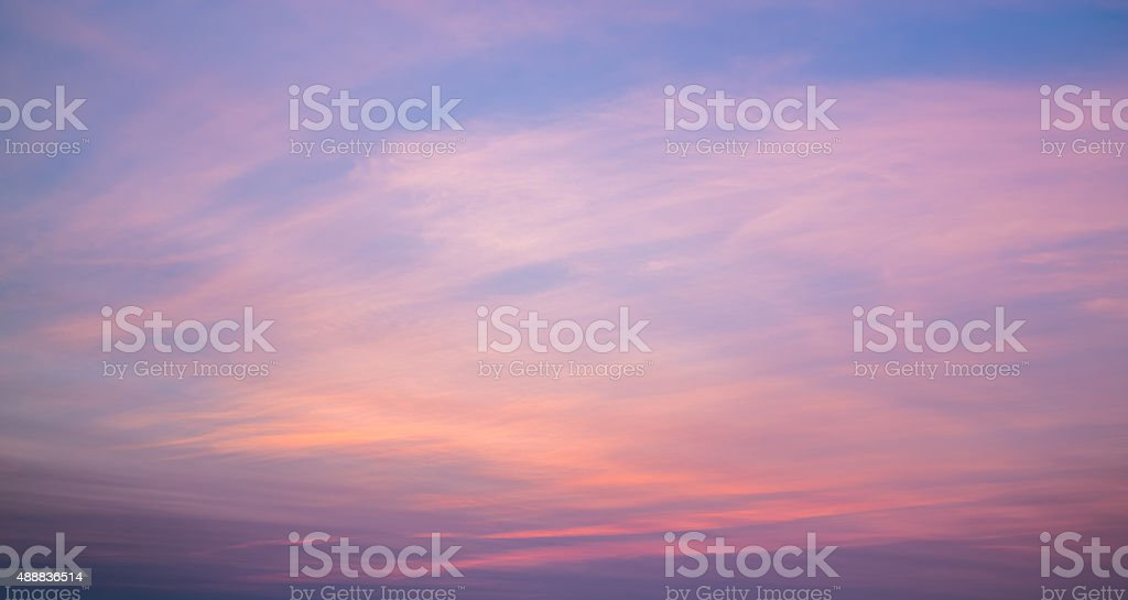 Colorful Multi Colored Sunset stock photo