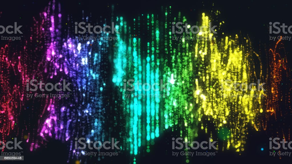 Colorful multi-colored equalizer, waves and abstraction stock photo
