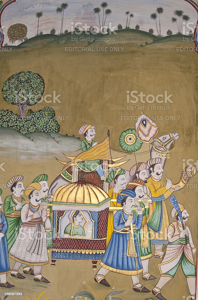 Colorful Mural stock photo