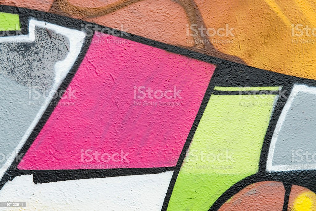 Murales colorato royalty-free stock photo