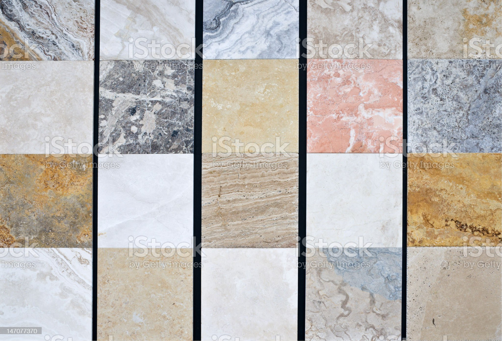 Colorful natural stone pattern royalty-free stock photo