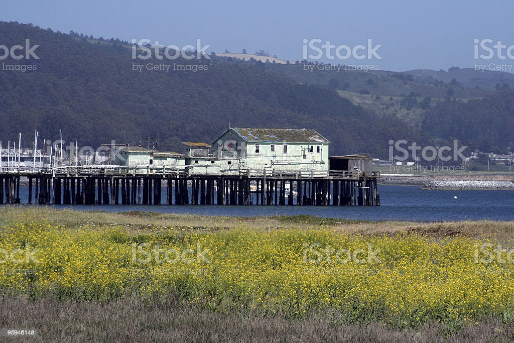 Colorful Nautical Landscape stock photo