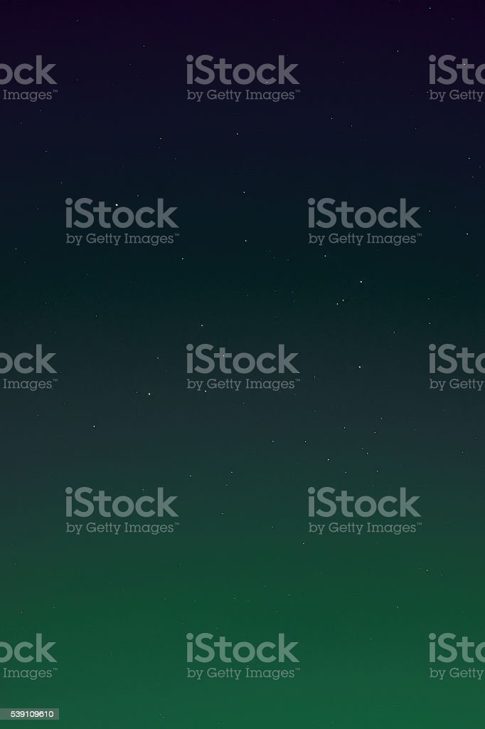 Colorful Night Sky Background with Stars stock photo